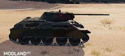 """T-34 Remodel """"T34/E"""" 5.0 [1.0.2.3], 3 photo"""